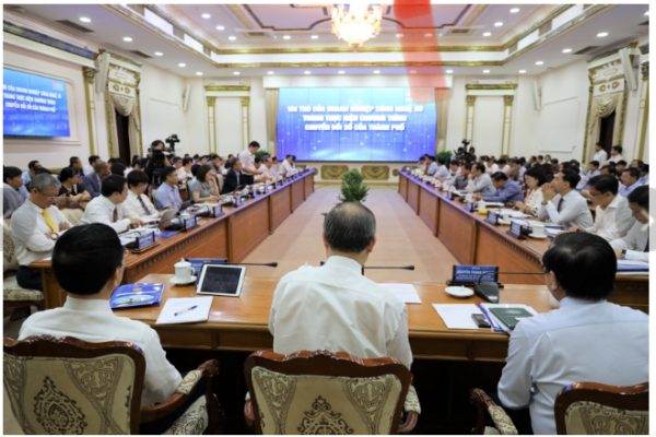 TP. Hồ Chí Minh công bố Chương trình Chuyển đổi số và hệ thống nền tảng tích hợp, chia sẻ dữ liệu