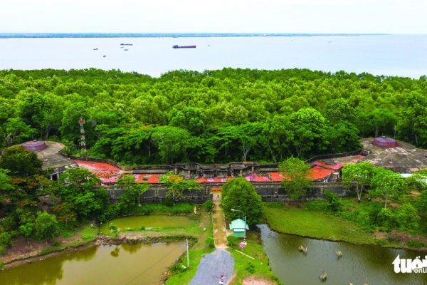 Bên trong đồn Rạch Cát – pháo đài lớn nhất Đông Dương